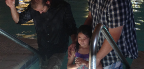 Praise The Lord For Our Most Recent Baptism!